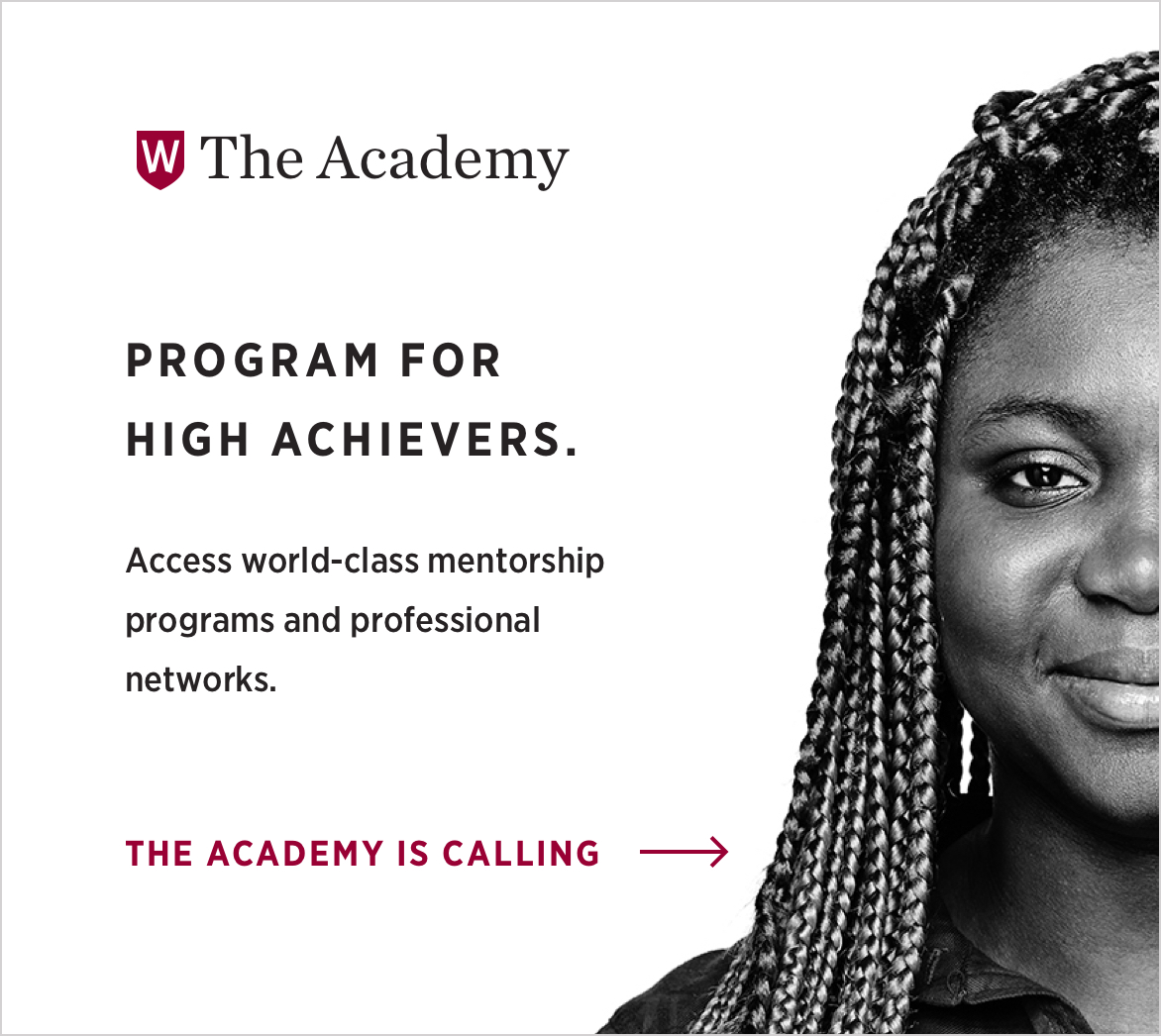 The Academy. High achievers program.