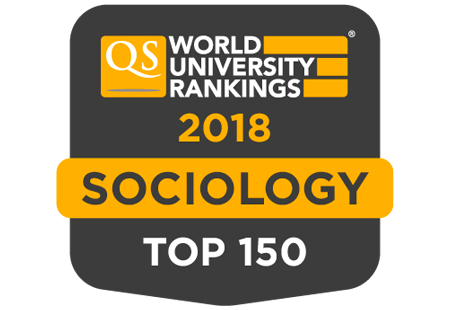 Western is in the top 100 in the world for sociology