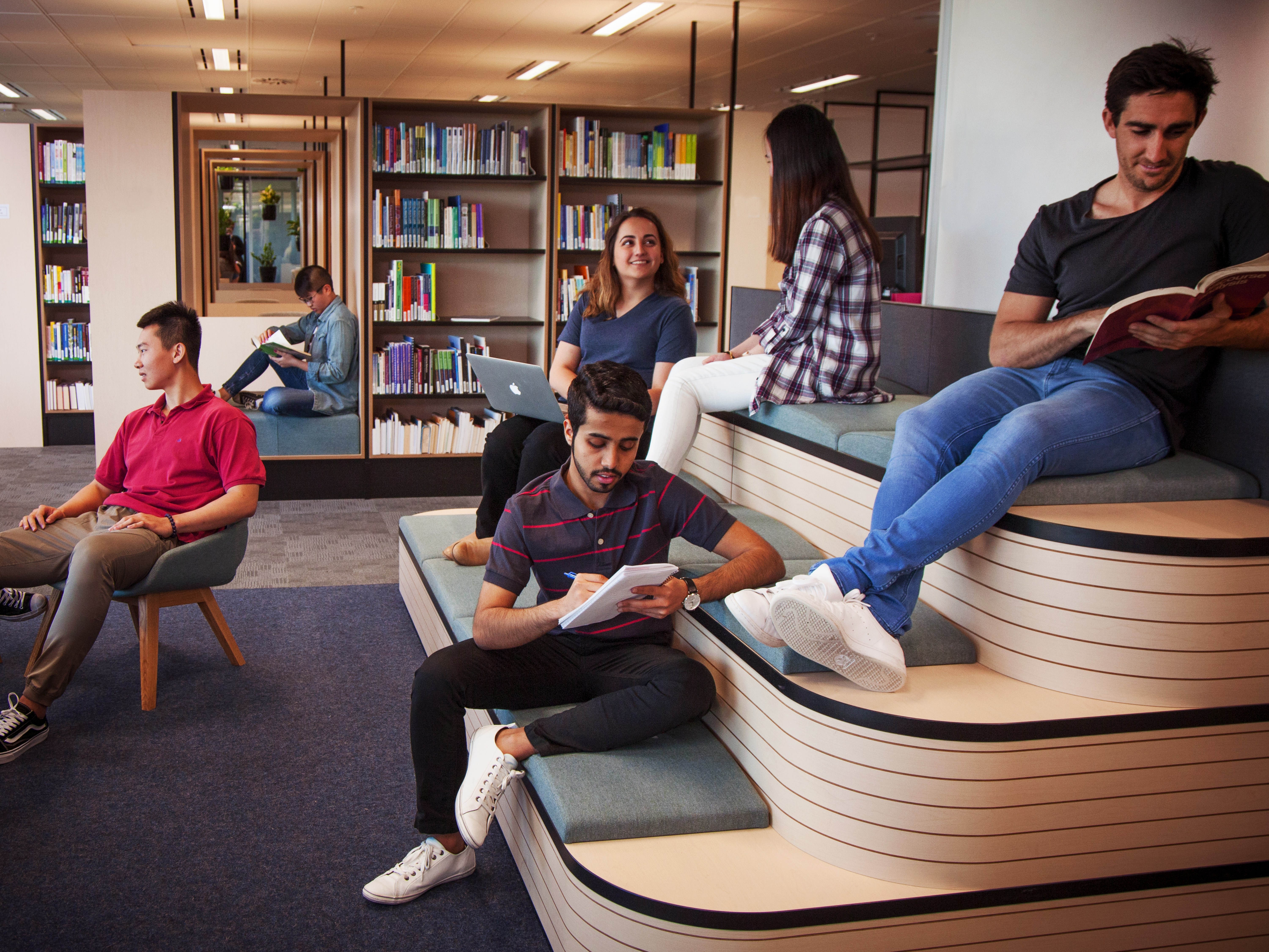 Our Sydney campus library provides quality resources and services to support teaching and learning.